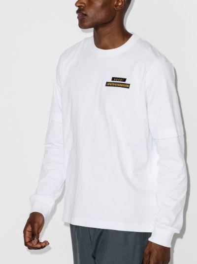X Hank Willis Thomas printed cotton shirt