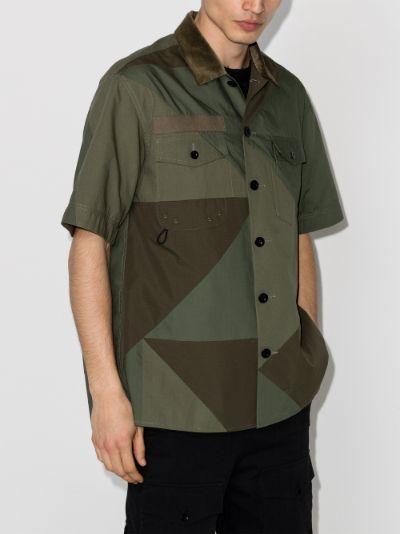 X Hank Willis Thomas Solid Mix shirt