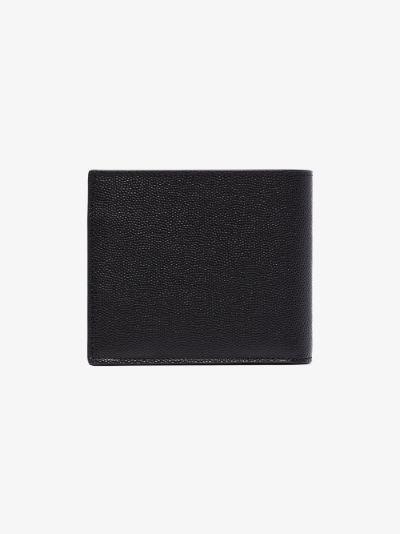 black East West Leather Wallet