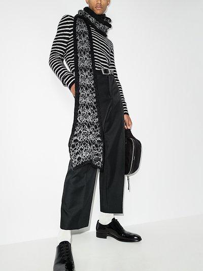 black Écharpe scarf