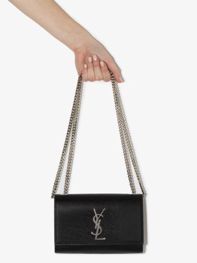 black Kate small leather shoulder bag
