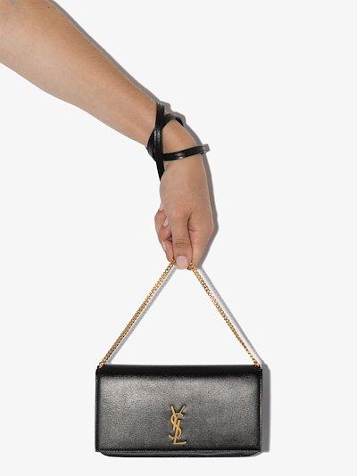 Black Monogram phone holder bag