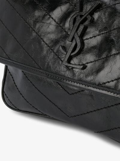 black Niki medium leather shoulder bag