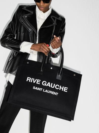 black Rive Gauche tote bag