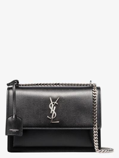 black Sunset medium leather shoulder bag