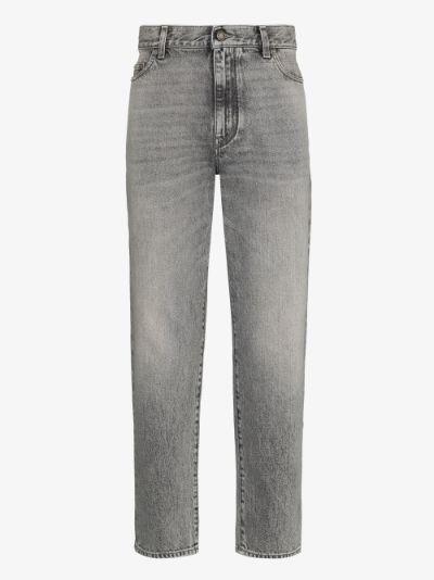 carrot straight leg jeans