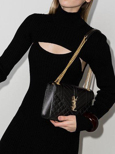 Cassandra quilted shoulder bag