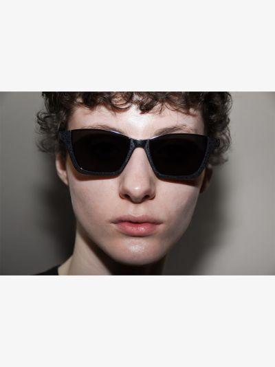 Black 365 Dylan square sunglasses