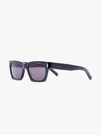 black 402 square frame sunglasses