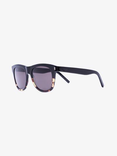 black Havana 51 tortoiseshell sunglasses