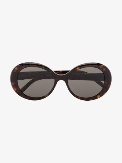 brown 419 round sunglasses