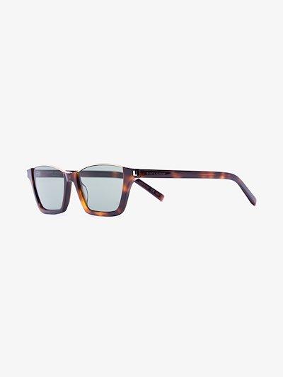 brown Dylan 365 tortoiseshell rectangle acetate sunglasses