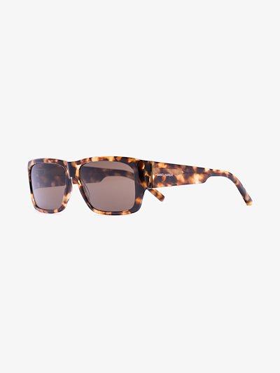brown Lenny 366 rectangular sunglasses