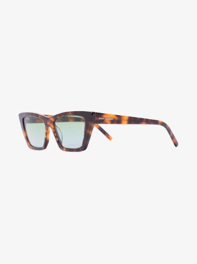 brown Mica wayfarer sunglasses