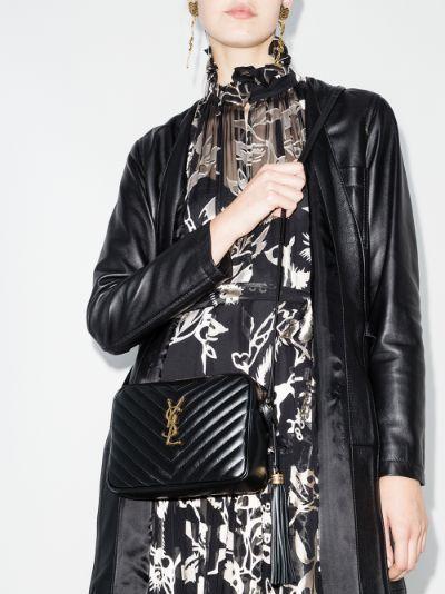 Monogram Lou leather cross body bag