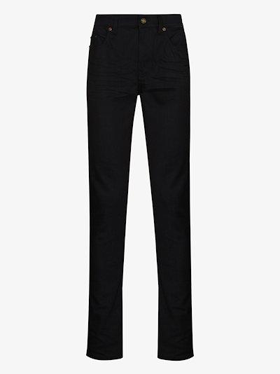 stretch-fit skinny jeans