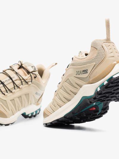 beige XA-Pro Fusion Advanced mesh sneakers