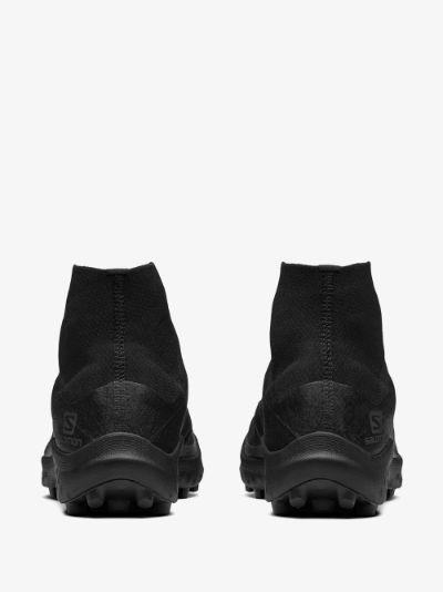 Black Cross high top sneakers
