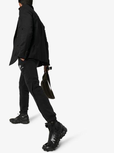 black Snowcross ADV high top sneakers