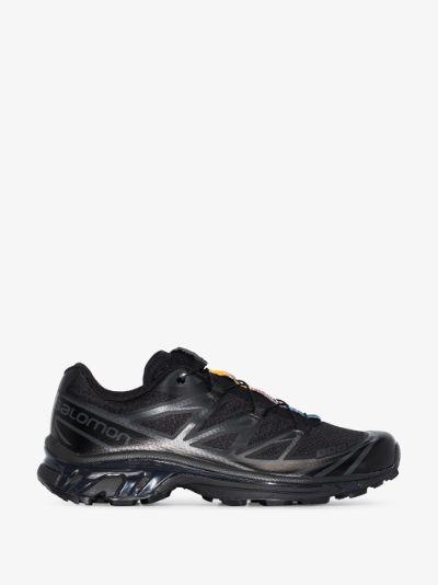black XT-6 low top sneakers