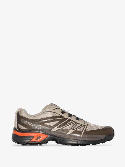 brown XT-Wings 2 Advanced sneakers