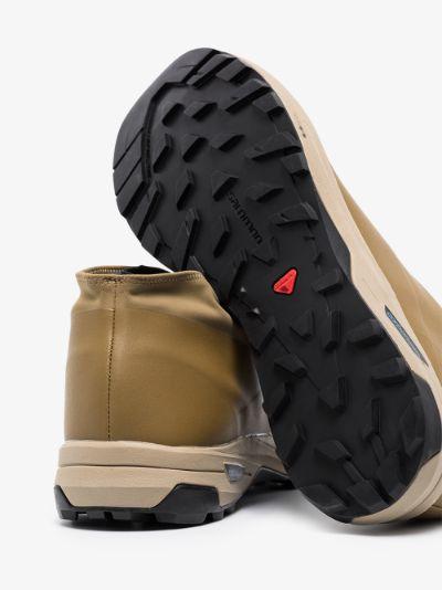 green alpine mid advanced sneakers