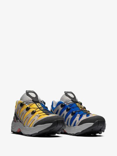 yellow XA Pro 1 Advanced sneakers
