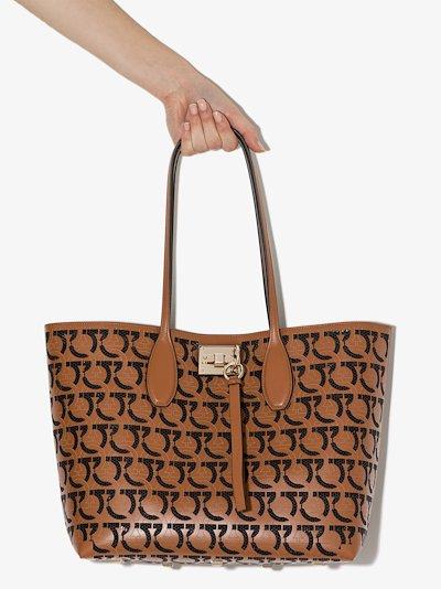 Brown Studio leather tote bag