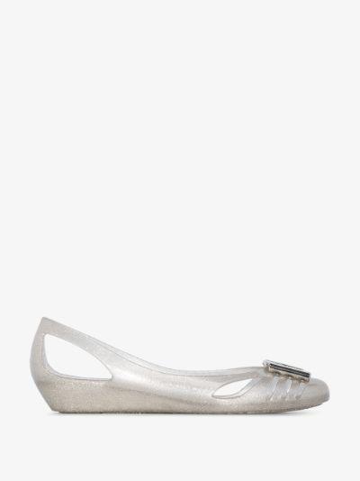 grey Bermuda ballerina shoes