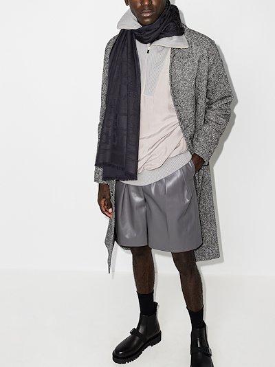 grey Gancini scarf