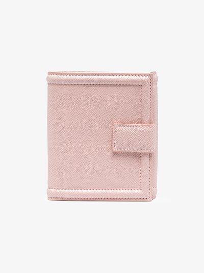 pink vara bow French wallet