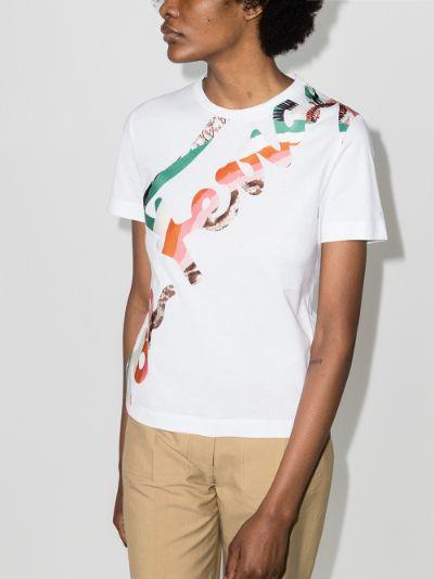 Signature Print Cotton T-shirt