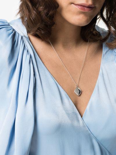 sterling Silver Isabela locket necklace