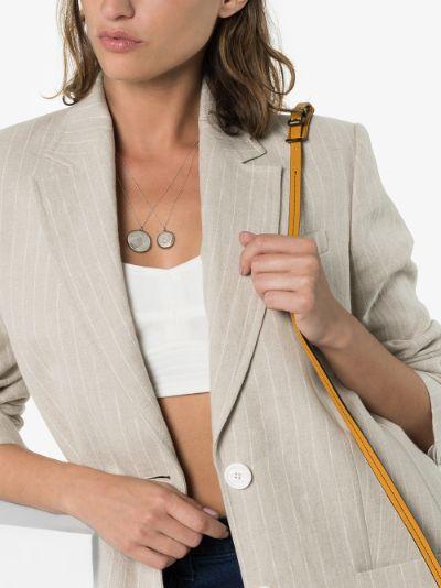 sterling silver Lia locket necklace