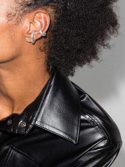 sterling silver Bold ear cuffs