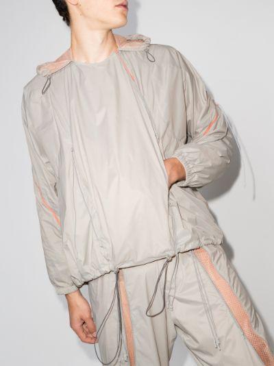 X Browns Focus Flipside hooded jacket
