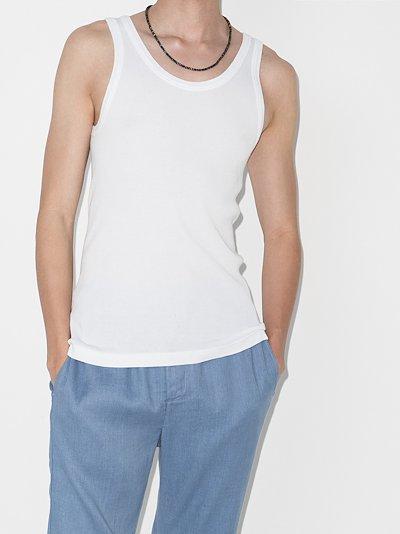 Frederick ribbed cotton vest set