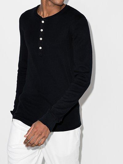 Karl-Heinz Button Long Sleeve T-Shirt