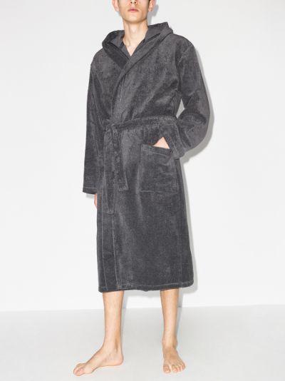 Terry cotton bathrobe