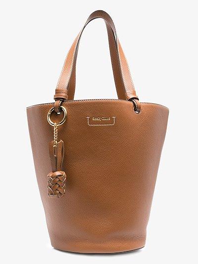 brown Cecilya leather bucket bag