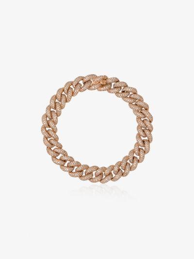 18K Rose Gold Essential Link diamond bracelet