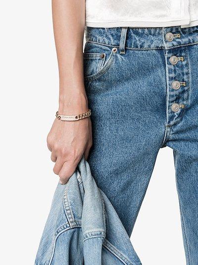 18K rose gold ID Essential Link diamond bracelet