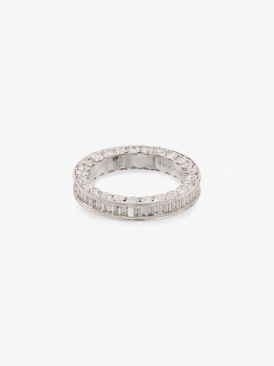 18K white gold Eternity diamond ring