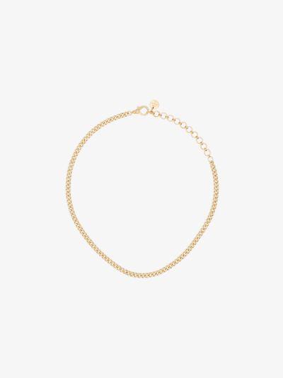 18K yellow gold Baby Link diamond choker necklace