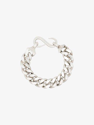 sterling silver B hook bracelet