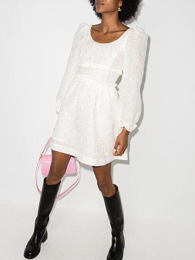 Agnes brocade mini dress