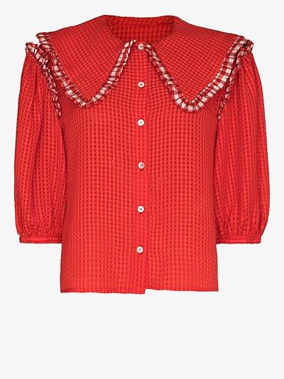 aldrich puff sleeve blouse