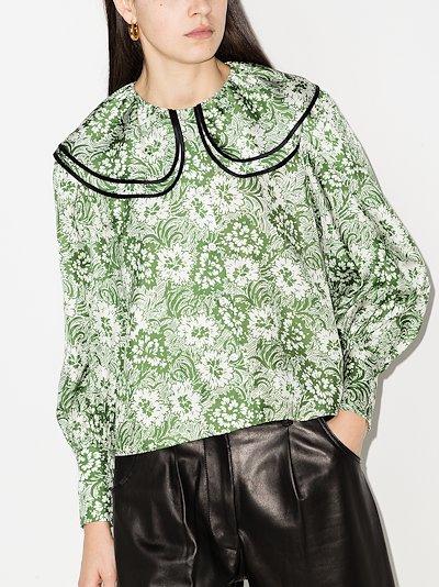 amelia silk blouse