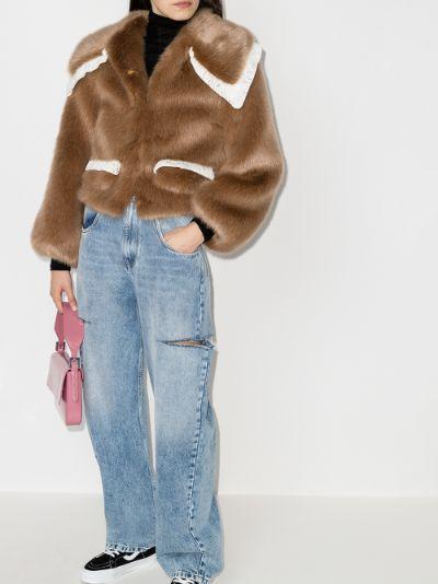 Heath faux fur jacket