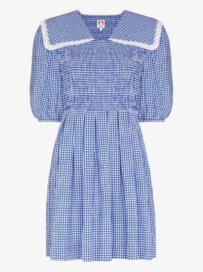 Johann Gingham Mini Dress